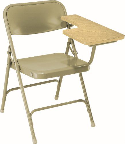 Premium Folding Chair w Tablet Arm - Set of 2 by National Public Seating