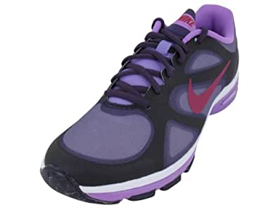 Amazon.com | Nike Dual Fusion TR Womens Size 8 Purple Mesh ...