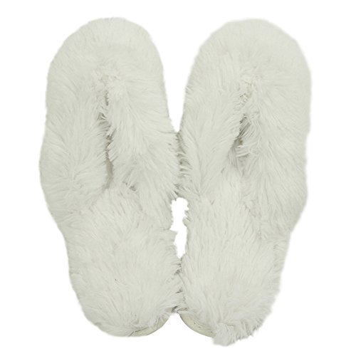 Slippers House Plush White Fleece Spa Slipper Indoor Home Cute Thong Long Womens Slippers Warm Clogs 4w4qp8