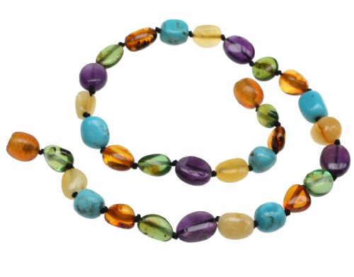 Amberbeata Amber Teething Necklace for Baby