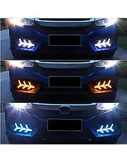 MAD HORNETS LED Rear Bumper Reflector Fog Brake Turn Indicator Light for Car Fit for Ci-vic 16+