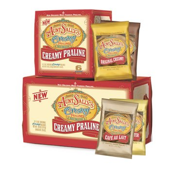 Aunt Sally's Creamy Assorted Pralines Box of 6 -