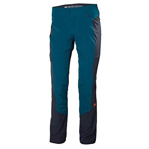 Helly Hansen Womens Vanir Hybrid Outdoor Hiking Pants, Legion Blue, Large