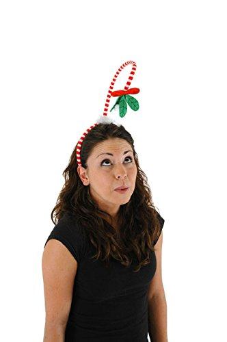 Christmas Mistletoe Springy Headband by elope