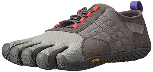 Vibram Women's Trek Ascent Light Hiking Shoe, Dark Grey/Lilac,39 EU/8 M US