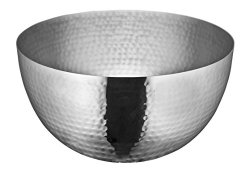 Cuisinox Raindrop Serving Bowl, (Hammered Stainless Steel Bowl)