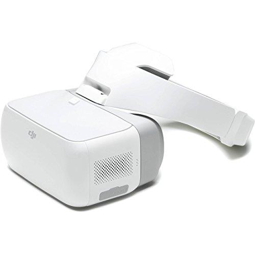 DJI Drone, UAV Goggles - White - - Goggles Nerd