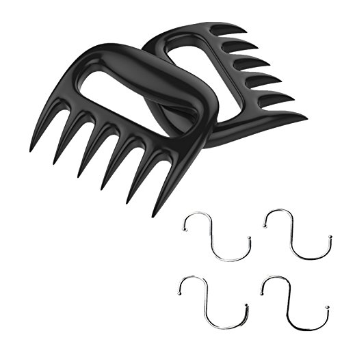 Tovantoe bear claws1743 Meat Handler Carving, Black by Tovantoe