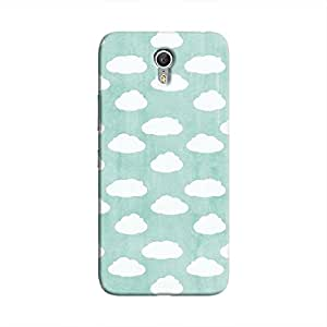 Cover It Up - Clouds Cyan Sky Zuk Z1 Hard case