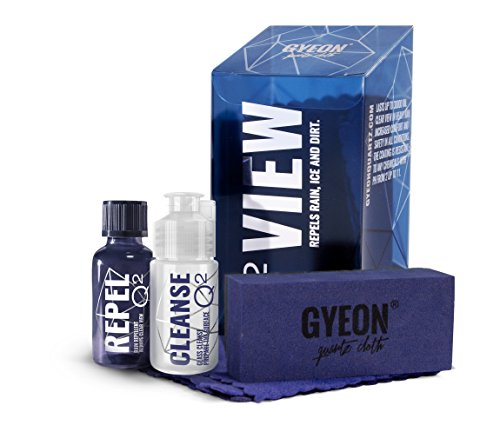 GYEON Quartz Q² View Hydrophobic Windshield and Glass Coating