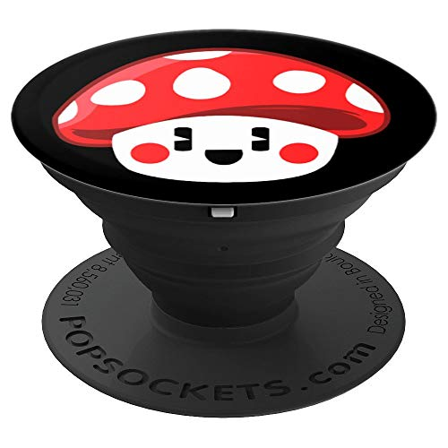 (Funny Mushroom Cute and adorable Sweet Love Gift Idea - PopSockets Grip and Stand for Phones and Tablets)