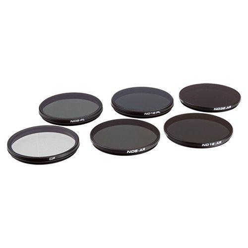 PolarPro DJI Inspire 2 Zenmuse X7 / X5S / X5 Filter 6-Pack by PolarPro