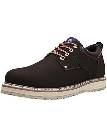 cd42e44024df7 CAMEL CROWN Chaussures de Ville à Lacets Homme, Mode Chaussures  Décontractées Antidérapantes Oxford Derbies Homme