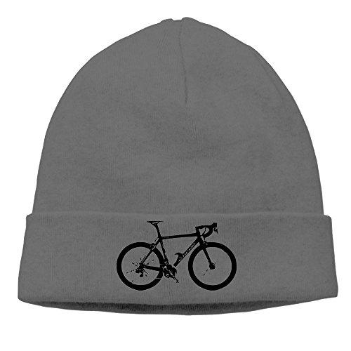 Panshisan Bike Unisex Beanie Cap For Women and Men Cuffed Plain Skull Fahional Knit Wool Hat and Cap - Indie Snapbacks