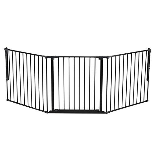 BabyDan Flex Gate Large 35.4-87.8'-White