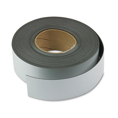 Magnetic Write-On/Wipe-Off Strips, 3'''' High, White, 50-ft. Roll (MAVMR50241P) by Magna Visual (Image #1)