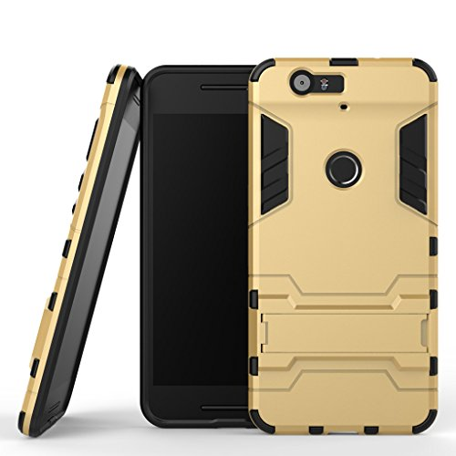 Wkae® Huawei Nexus 6P Case,2 in 1 New Armour Tough for sale  Delivered anywhere in USA