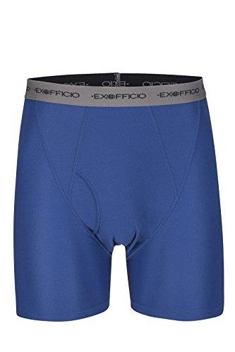 ExOfficio Men's Give-N-Go Boxer Brief,Admiral/Grey,Medium by ExOfficio (Image #3)