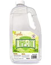 Citronella Lamp Oil, 1 Gallon - Smokeless Insect and Mosquito Repellent Scented Paraffin Fluid for Indoor and Outdoor Lamp, Lantern and Oil Candle Use - by Hyoola