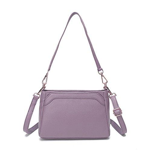 Purple Main De Sacs à à De Main Messenger Mode Crossbody Vintage Sacs Casual Voyage 0XqFOI8