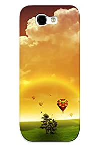 Fashionable QxKedMd882JPTRs Galaxy Note 2 Case Cover For Dreams Of Fly Protective Case With Design by icecream design