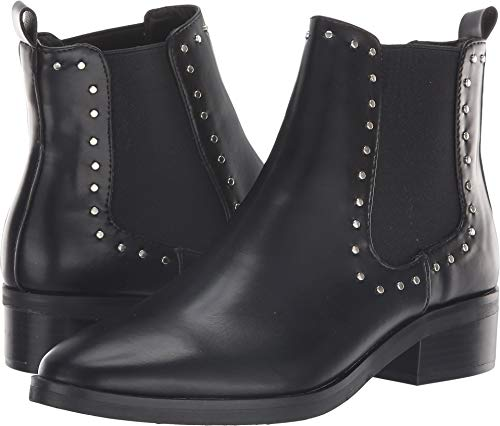 DV by Dolce Vita Women's Arrive Chelsea Boot, Black Stella, 7.5 M US