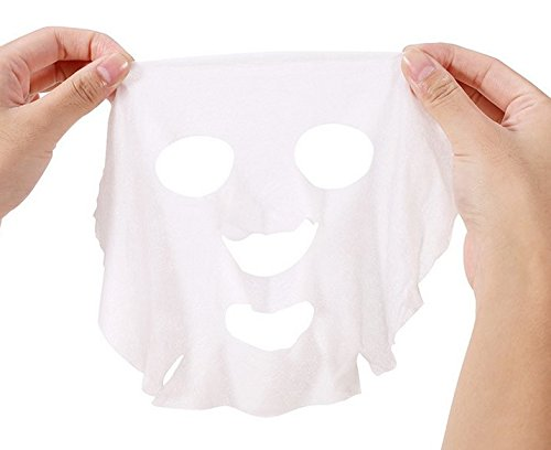 WOIWO 20 Pieces Compressed Disposable Facial Mask Grain Dry Sheet Mask Paper DIY Natural Face Cotton Mask