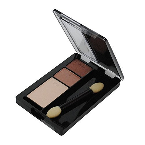 (Maybelline New York Expert Wear Eyeshadow Trios, Chocolate Mousse, 0.13 Ounce)