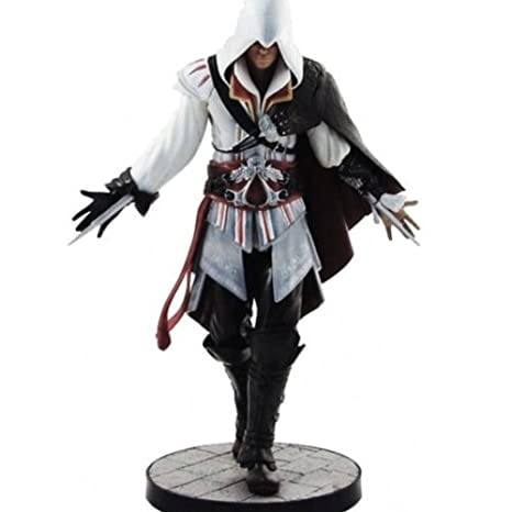 Assassins Creed - Ezio Auditore en traje, estatua de 17 cm ...