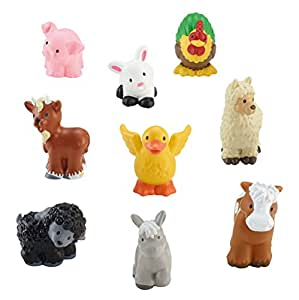 Amazon.com: Fisher-Price Little People Farm Animal Friends ...