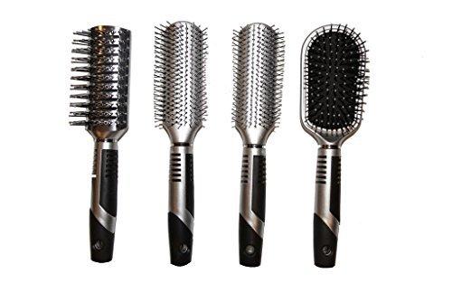 Viva Icicles Professional Hair Brush Set (4 Pack)