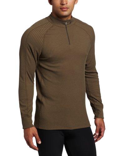 Asics Pullover - Asics Men's Rib I Tech 1/2 Zip Pullover, Tarmac, Small