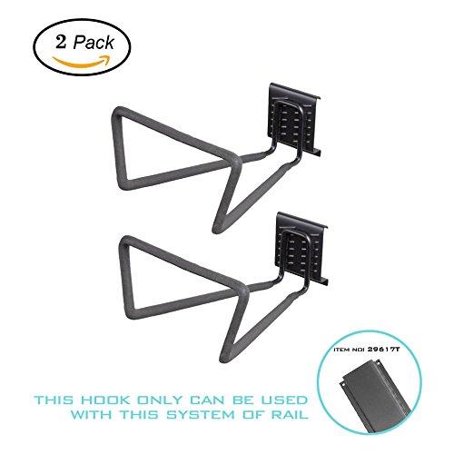 Storage System Hose Hook (Ultrawall Garage Organizer,2-Pack Heavy Duty Hose Hook,Tool Storage Hanger)