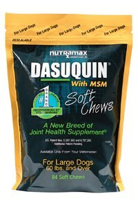 NutraMax 84 Count Dasuquin with MSM Soft Chews for Large Dogs, My Pet Supplies