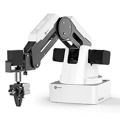 DOBOT Magician Educational Programming Robot Arm with 3D Printer, Laser Engraver, Pen Holder, Suction Cap, Gripper: Industrial & Scientific