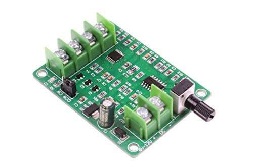 NOYITO [Upgrade] Mini DC Brushless Motor Driver Board Speed Control Board Speed Control Board 7V-12V Suitable for miniature 3-wire or 4-wire brushless Hall motor