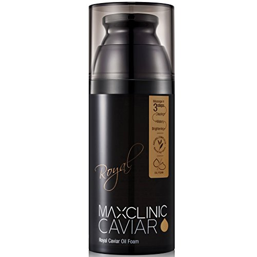 Maxclinic Royal Caviar Spa Cleanser - All Skin Type, All-in-one Cleanser, Ultra-luxury Caviar 3.72oz -
