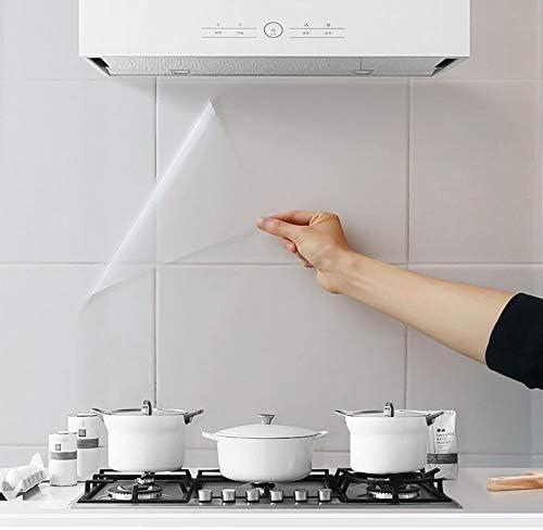 3 pegatinas de pared a prueba de aceite, para cocina, comedor, encimera, de madera, transparente y resistente al calor, resistente al calor, adhesivo para mesa: Amazon.es: Hogar