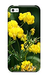 Durable Defender Case For Iphone 5c Tpu Cover(yellow Beauties Nature Other)