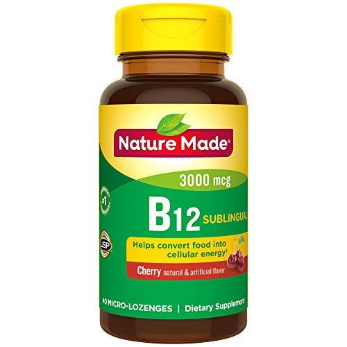 Nature Made Sublingual Vitamin B12 3000 mcg