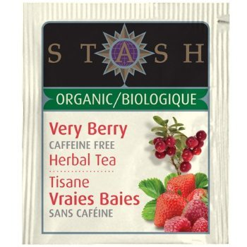 Stash Organic Herbal Tea Caffeine Free Very Berry - 18 Tea ()