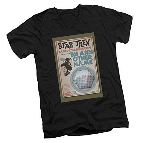TOS Episode 51 -- Star Trek Episode Art Adult Slim-Fit V-Neck T-Shirt, X-Large