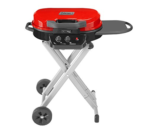 Coleman Gas Grill | Portable Propane Grill for Camping & Tailgating | 225 Roadtrip Standup Grill
