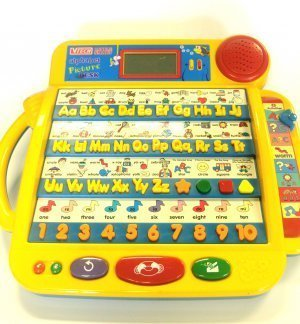 VTech Little Smart Alphabet Picture Desk Educational Learning Toy for Toddlers and Kids -  0000