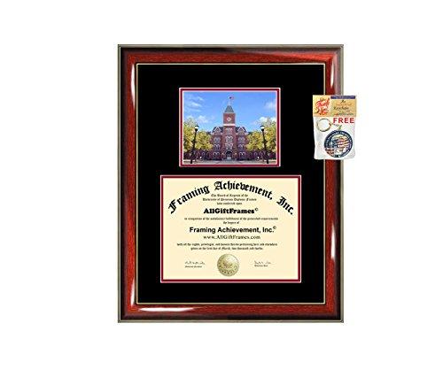 (Ohio State University Diploma Frame OSU Graduation Degree Bachelor Master PhD Doctorate School Double Mat Graduation Certificate Plaque University Framing Graduate Gift Collegiate )