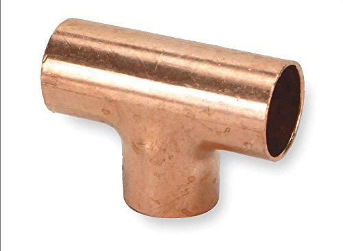 - Tee,Wrot Copper,C x C,1/4 x 1/4 In U611 1/4