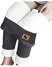 2021 Winter Warm Sherpa Fleece Lined Leggings for Women High Waist Legging Stretchy Thick Cashmere Plush Thermal Pants