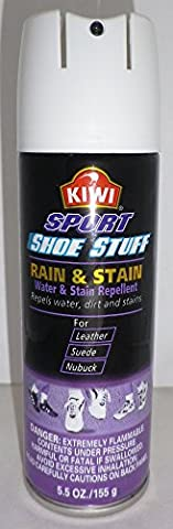 Kiwi Sport Shoe Stuff Rain & Stain Repellant 5.5 Oz (Rain Repellant Spray)