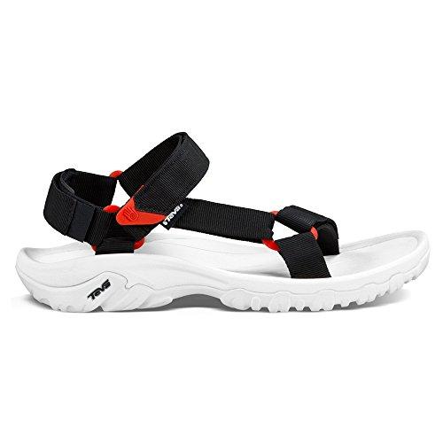 Teva Men's Hurricane XLT Sandal, Black, 9 US Black/Red