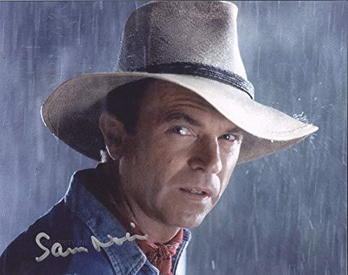 SAM NEILL as Dr. Alan Grant – Jurassic Park GENUINE AUTOGRAPH